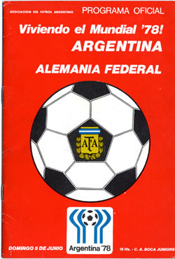 1977 Argentina West Germany 1 3 0 1 Germany S