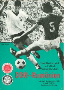 Länderspiel 30.03.1988 DDR Romania Rumänien