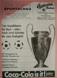 Chronik Europacup