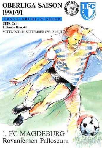 Fram Reykjavik Programm UEFA Cup 1992//93 FC Kaiserslautern